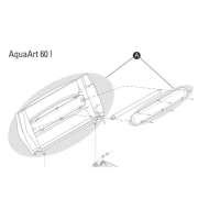 AquaArt 60L Abdeckung MK2