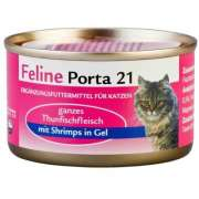 Feline Porta 21 Tuna with Shrimp in Oil 90 g
