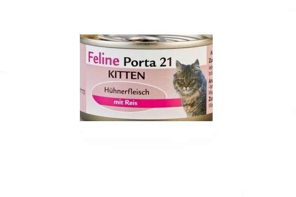 Feline Porta 21 Kitten Kylling 156 g