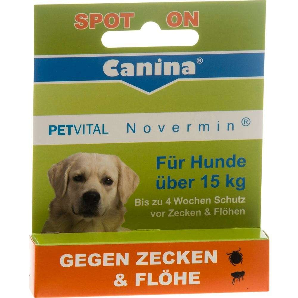 Canina Pharma PETVITAL Novermin pour grands chiens 4 ml