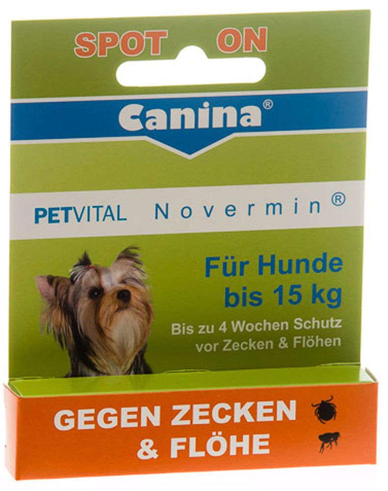 Canina Pharma Petvital  Novermin per cani di taglia piccola 2 ml  acquista comodamente
