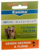 Petvital  Novermin per cani di taglia piccola 2 ml