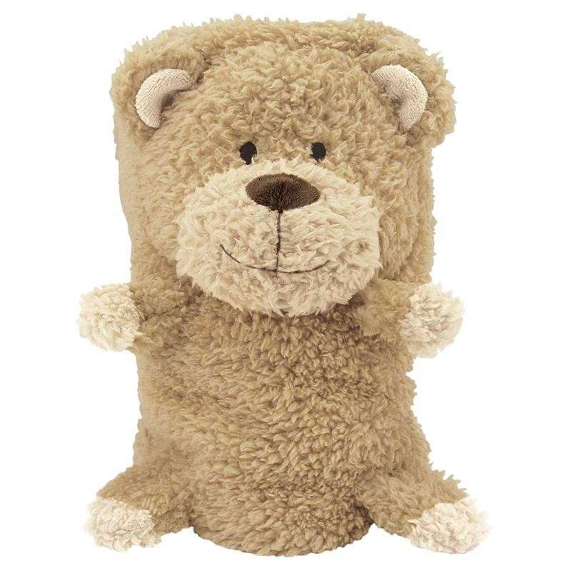 Hunter Puppies Deken Madison Teddy, Braun  Teddy  100x65 cm