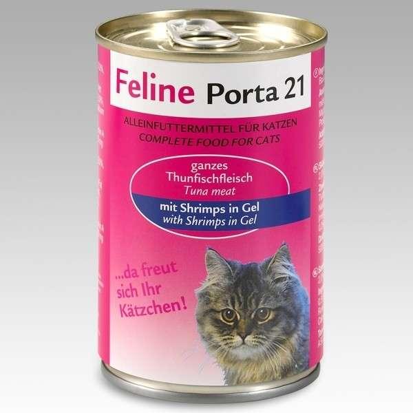 Feline Porta 21 Tun med Rejer 400 g 4021158046395 anmeldelser