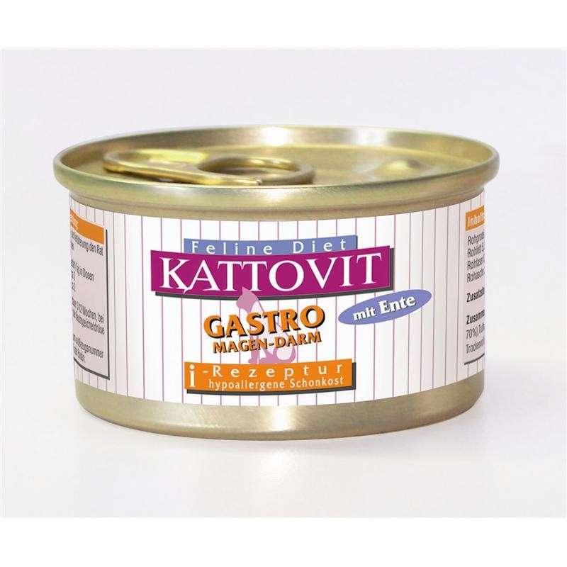 Kattovit Feline Diet Gastro Duck 85 g order cheap
