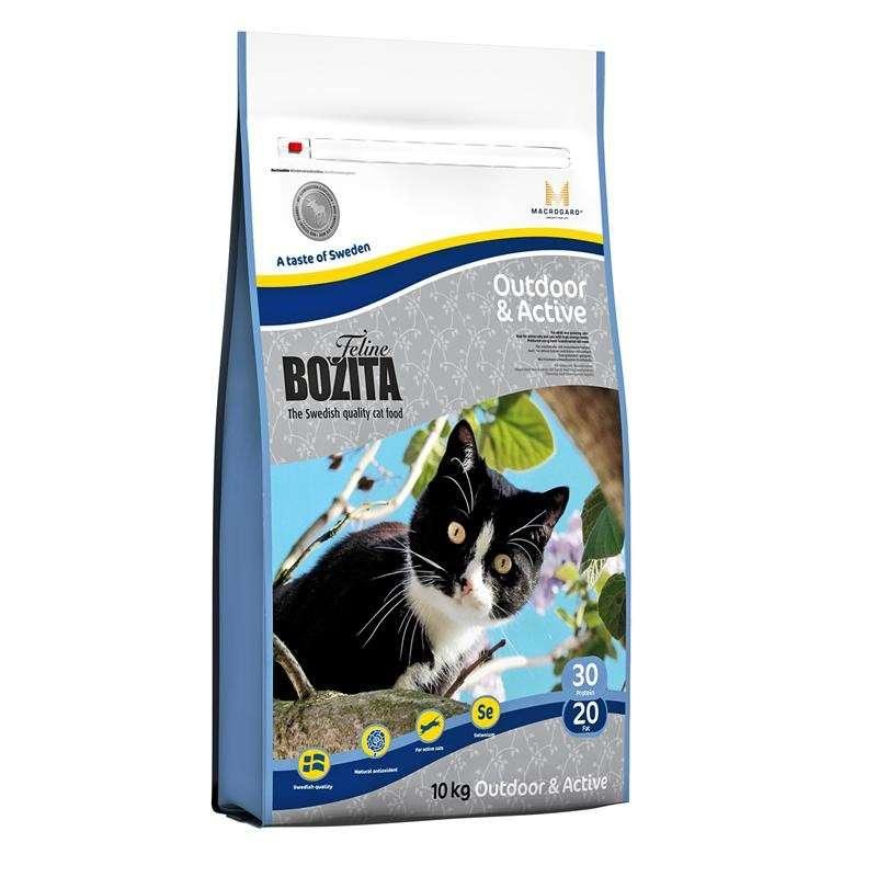 Bozita Cat Outdoor & Active 7311030302303 kokemuksia