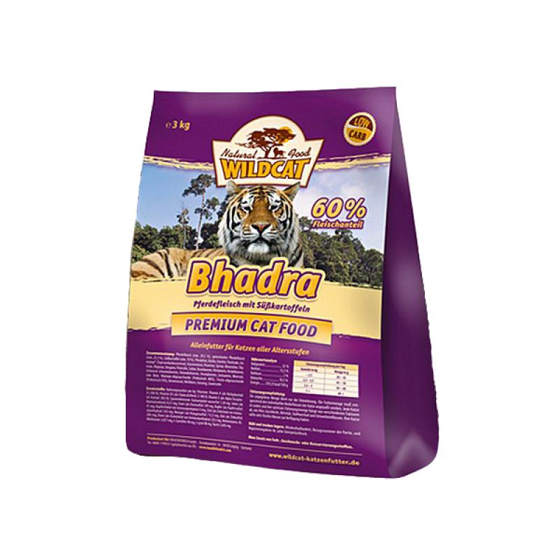Wildcat Bhadra Horse Meat, Sweet Potato 500 g, 3 kg