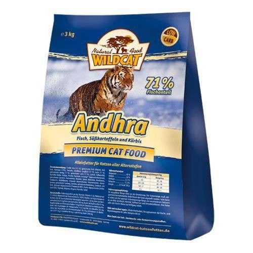 Wildcat Andhra Vis, Zoete Aardappel 500 g, 3 kg