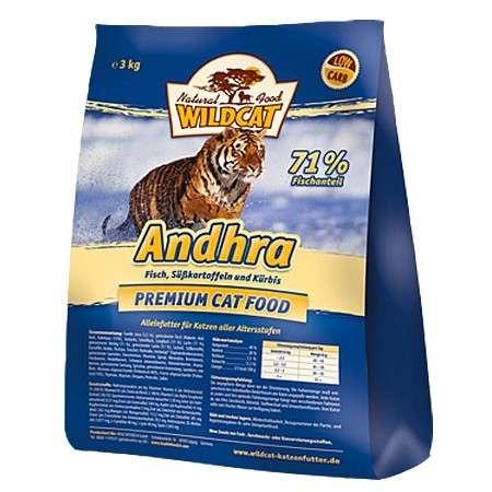 Wildcat Andhra Vis, Zoete Aardappel 3 kg, 500 g
