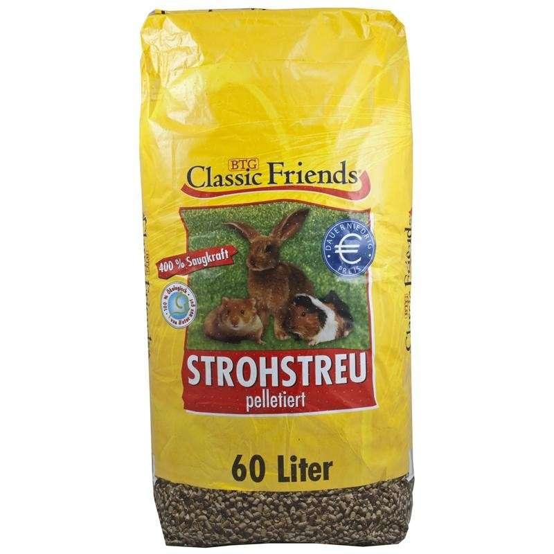Classic Friends StrawLitter in pellets 60 l  buy online