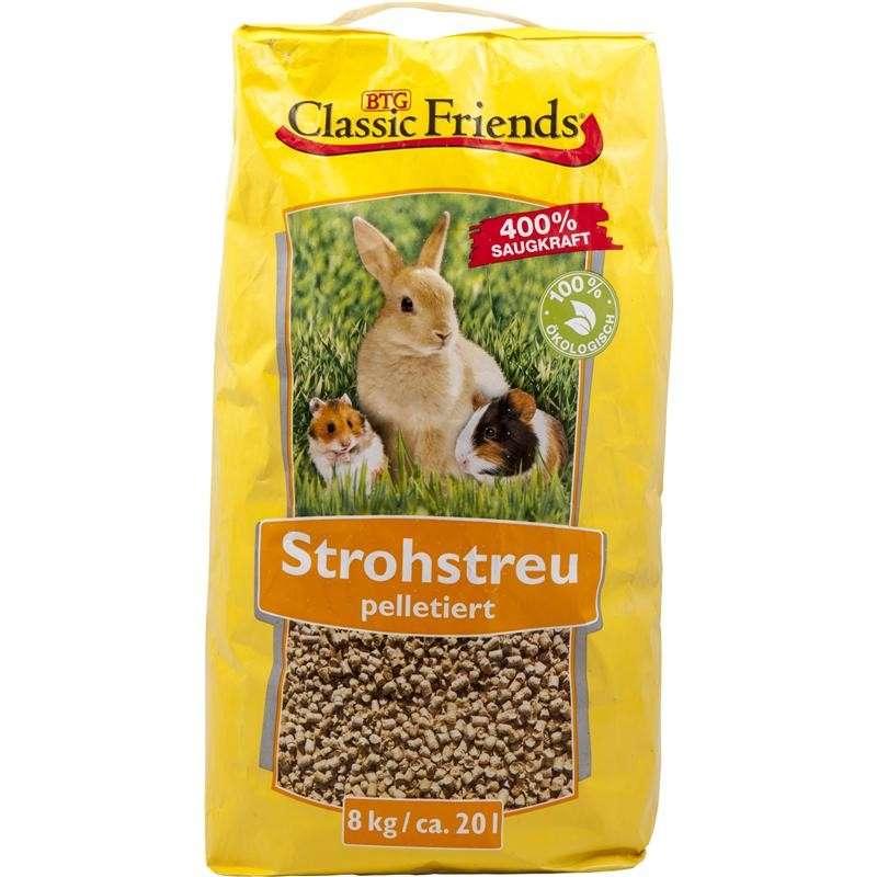 Classic Friends StrawLitter in pellets EAN: 4250016800170 reviews