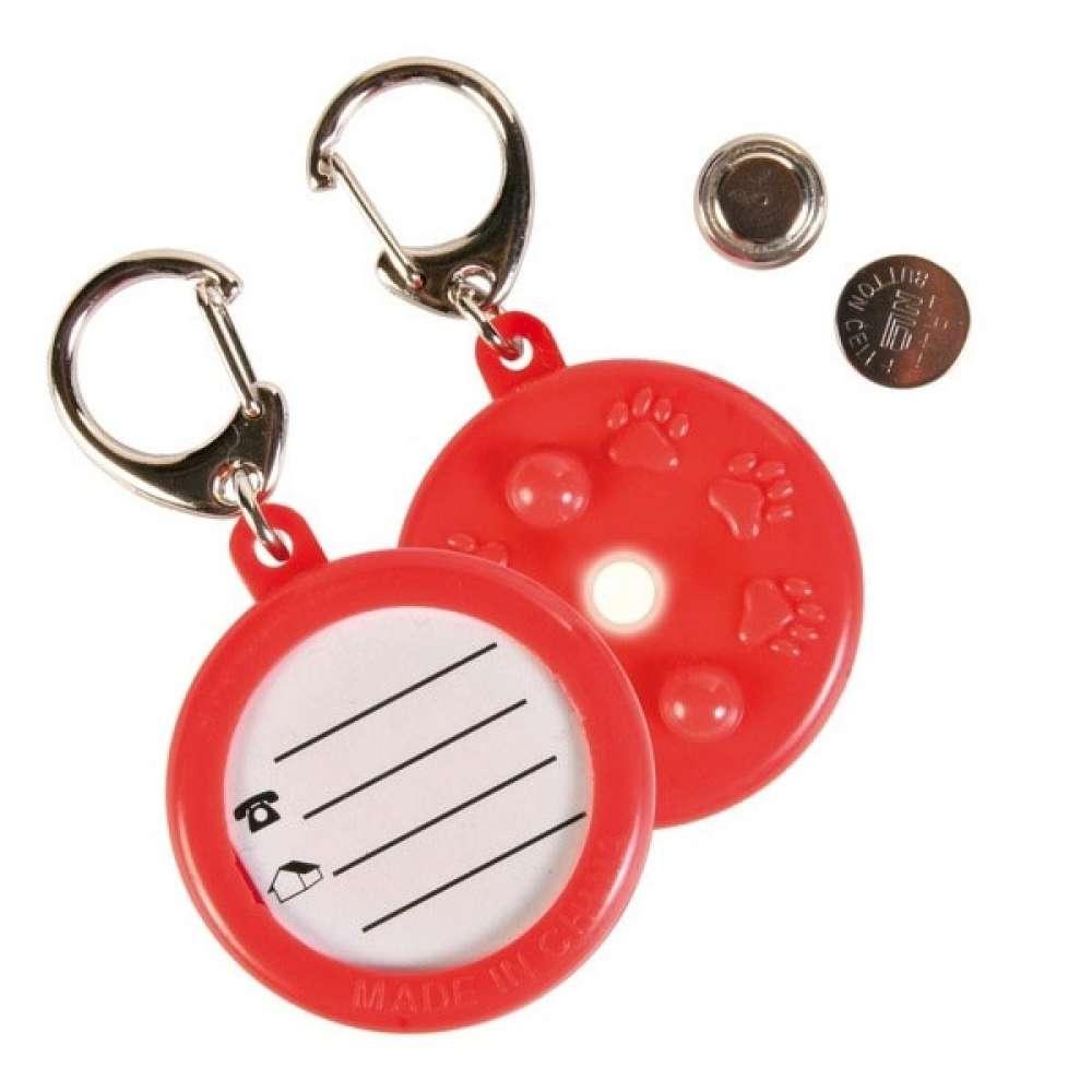 Trixie Adreskoker met diode voor hond of kat, ø 4 cm   met korting aantrekkelijk en goedkoop kopen