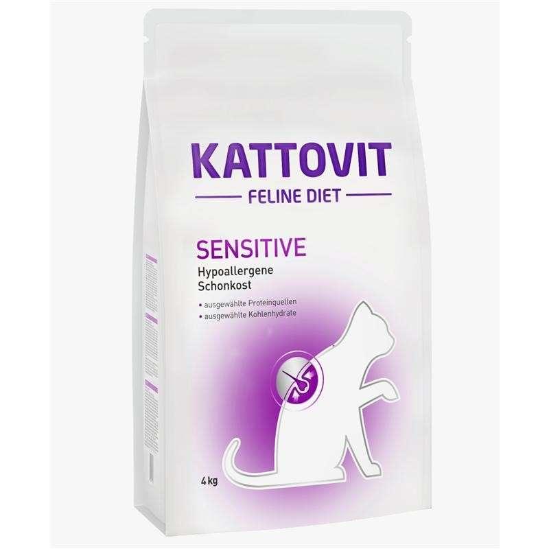 Kattovit Feline Diet Sensitive - Dieta hipoalergénica 400 g, 4 kg, 1.25 kg prueba