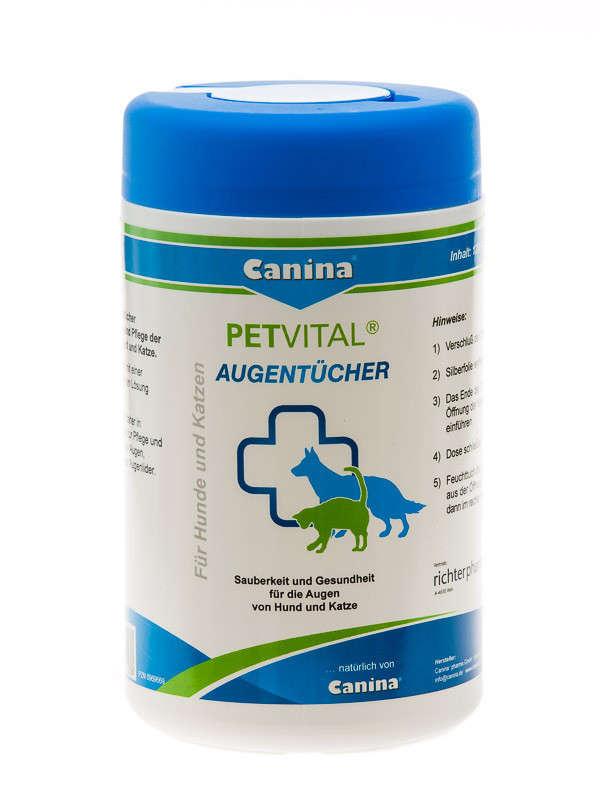 Petvital Eye Tissues   af Canina Pharma køb rimeligt og favoribelt med rabat