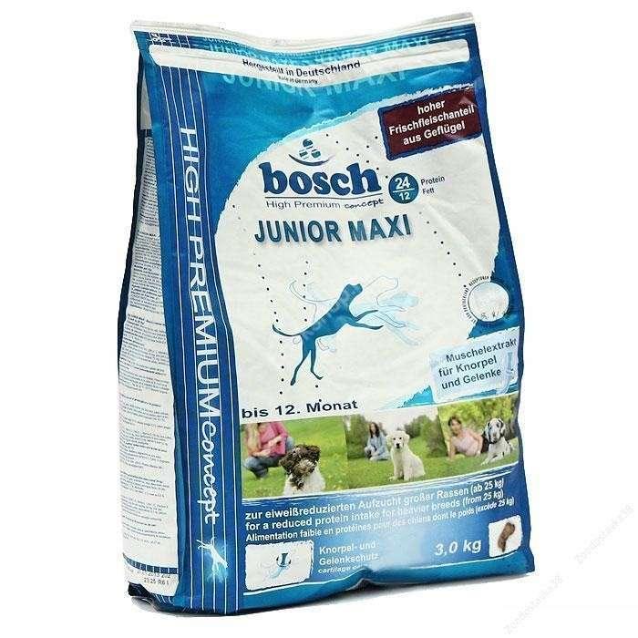 Bosch Junior Maxi 1 kg, 3 kg test