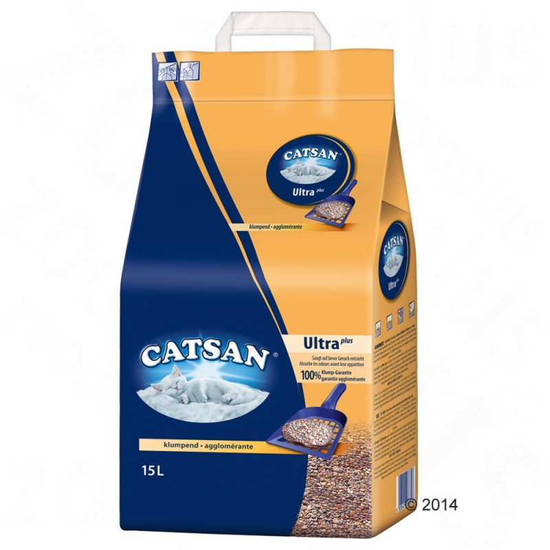 Catsan Clumping Litter 15 l  buy online