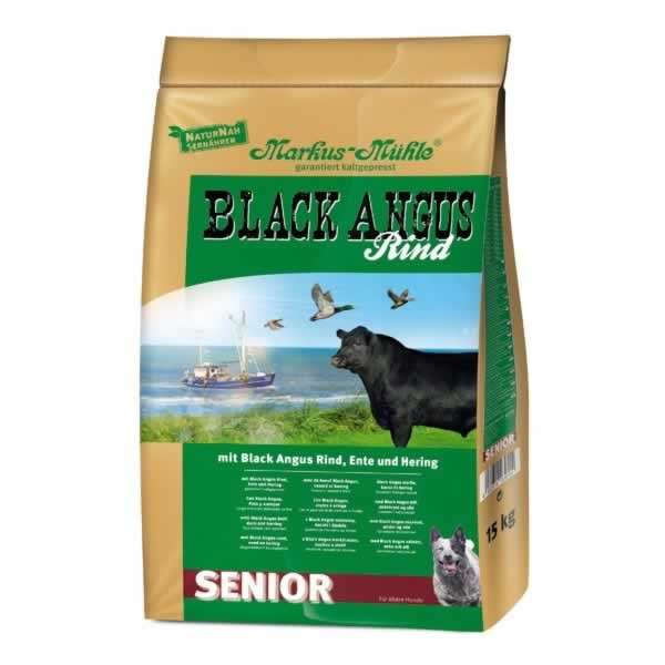 Markus-Mühle Mühle Black Angus Senior 1.5 kg, 15 kg, 5 kg kjøp billig med rabatt