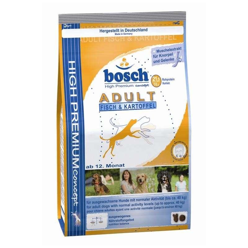 Bosch Adult Vis en Aardappel 1 kg, 3 kg