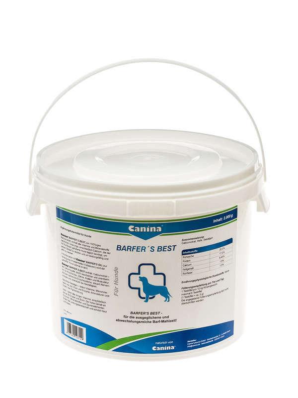 Canina Pharma Barfers Best 500 g, 2 kg, 180 g