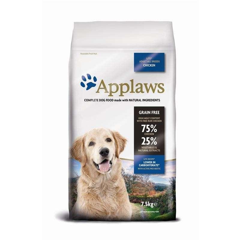 Applaws Adult All Breeds Lite, Kip 7.5 kg 5060333436278