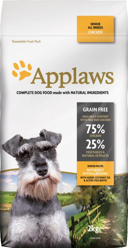 Applaws Senior All Breeds met Kip 2 kg, 7.5 kg