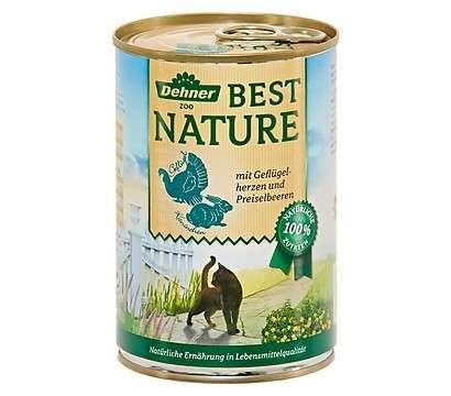 Best Nature Aves de corral y conejo con vaccinio 400 g