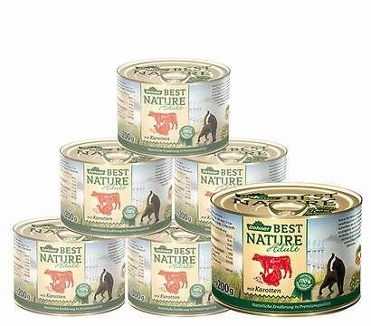 Best Nature Carne de pavo con zanahoria 200 g
