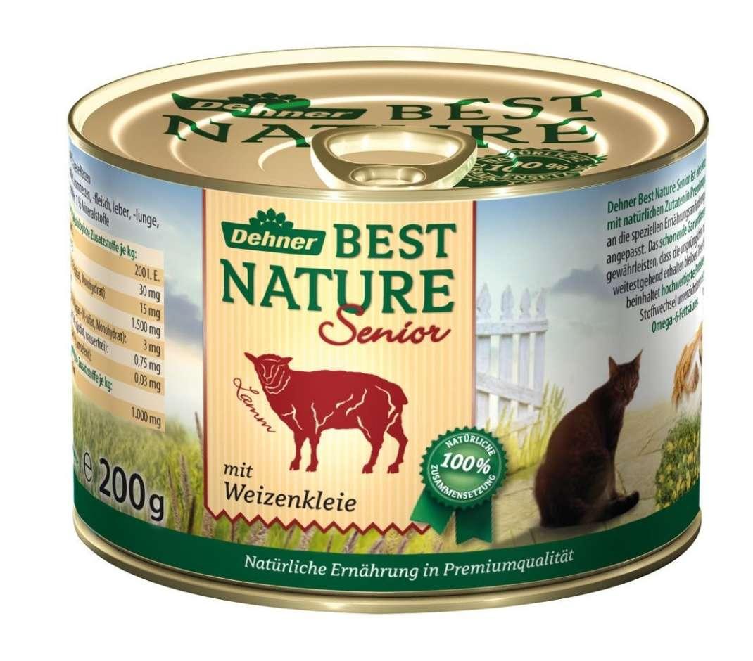 Best Nature Senior cordero con salvado de trigo 200 g