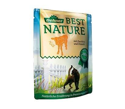 Best Nature Ternera con calabacín 85 g