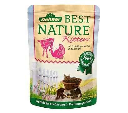 Best Nature Kitten Pute vacuno con mejillón verde 85 g