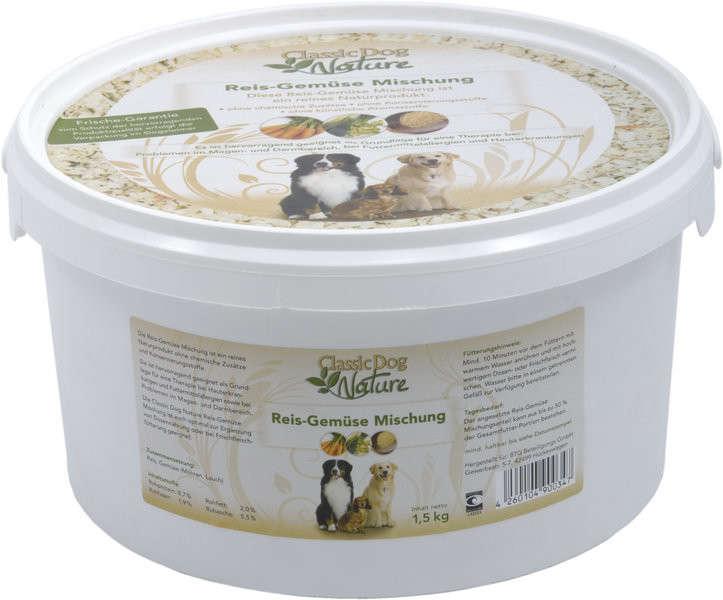 Classic Dog NaturalRice and Vegetable Mixture 1.5 kg kjøp billig med rabatt