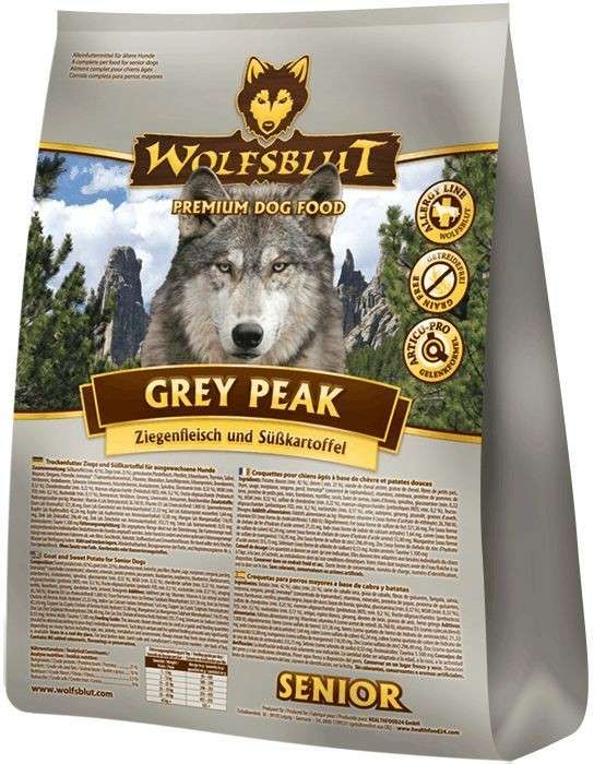 Wolfsblut Grey Peak Senior goat meat with sweet potatoes EAN: 4260262765819 reviews
