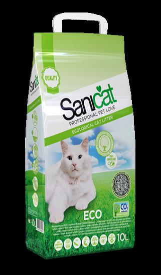 Sanicat Eco Lecho Higiénico de Papel y Celulosa 10 l