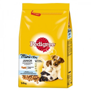 Pedigree Junior Mini with Chicken and Rice 1.4 kg