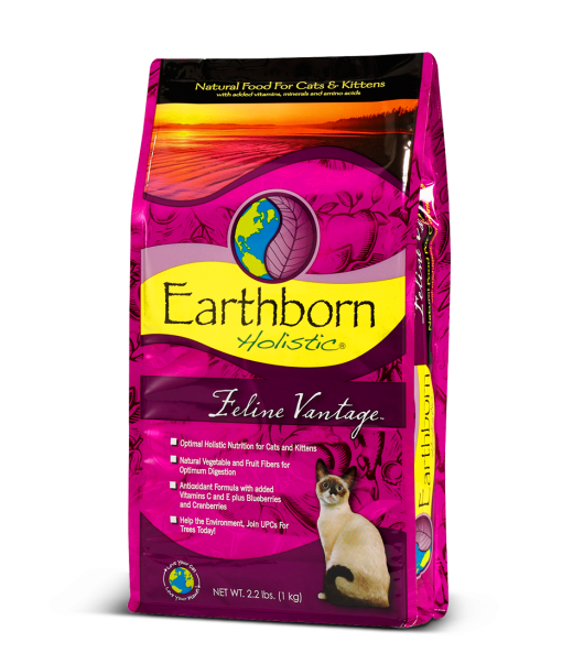 Earthborn Holistic Feline Vantage 6.36 kg, 2.73 kg