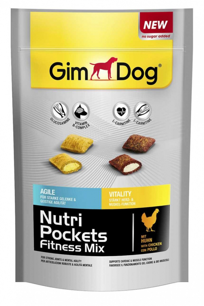 GimDog Nutri Pockets Fitness Mix 150 g
