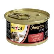 GimCat ShinyCat in Jelly Tuna with Salmon 70 g