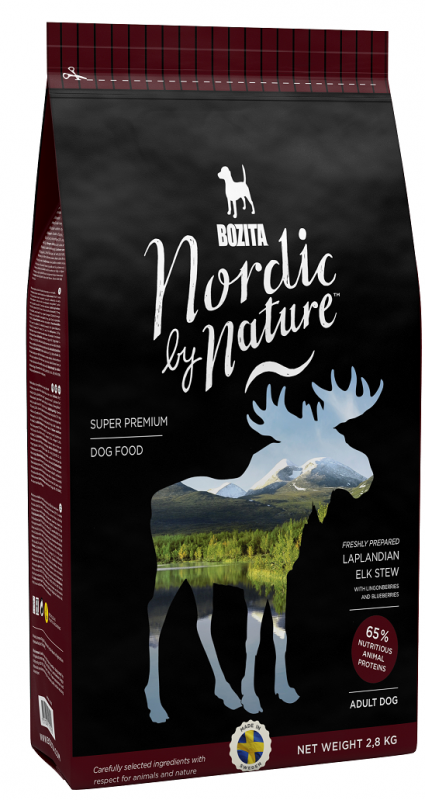 Bozita Nordic By Nature Laplandian Elk Stew 850 g, 7.5 kg, 2.8 kg
