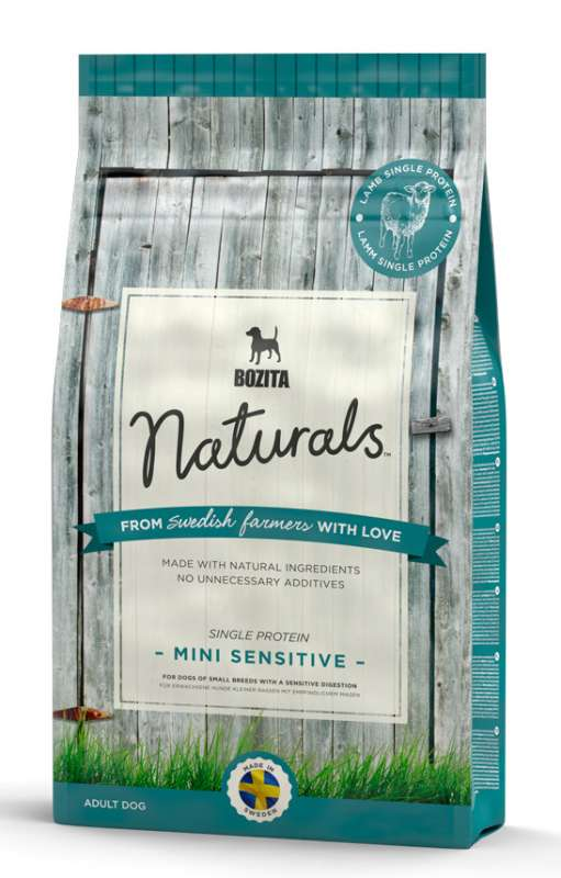Bozita Naturals Mini Sensitive Single Protein 950 g, 9 kg, 3.5 kg