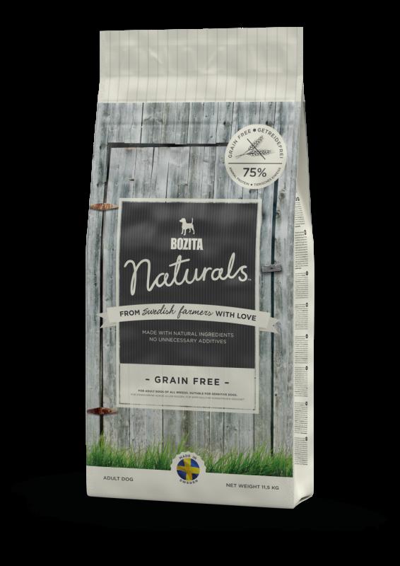Bozita Naturals Grain Free 11.5 kg 7311030130425 avis
