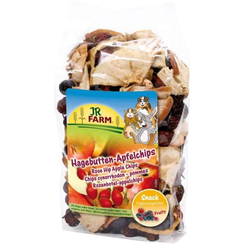 JR Farm Rose Hip Apple Chips 125 g