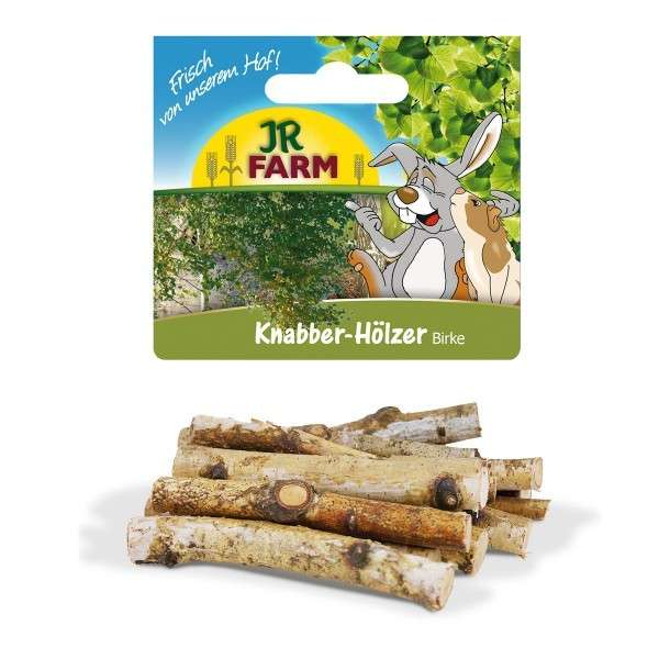 JR Farm Nibble-Wood Birch 40 g