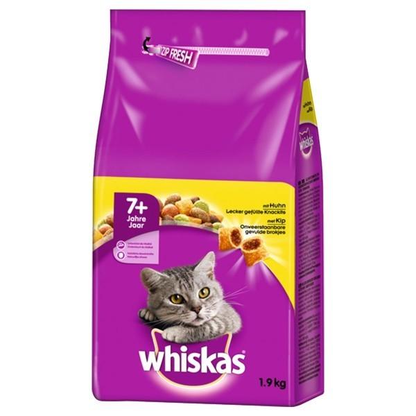 Whiskas 7+ Poulet 1.9 kg, 800 g, 950 g