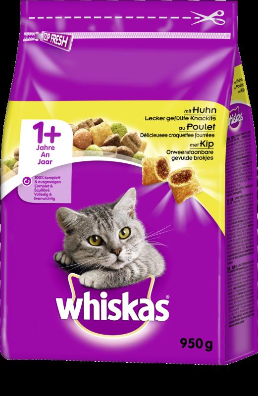 Whiskas Tørfoder 1+ Kylling 800 g, 1.9 kg, 950 g, 350 g, 3.8 kg test