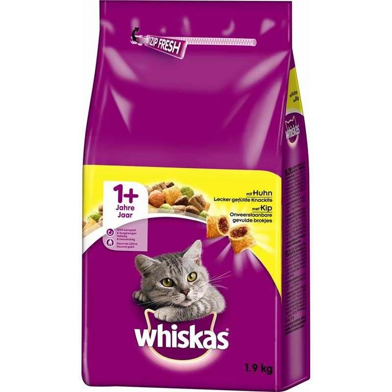 Whiskas 1+ Kylling 14 kg, 1.4 kg, 350 g, 950 g, 3.8 kg, 800 g, 1.9 kg, 300 g