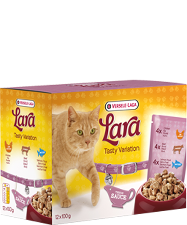Versele Laga Lara Pouch Tasty Variation 12x100 g