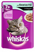 Pouch 7+ with Pollock in Gravy 100 g fra Whiskas