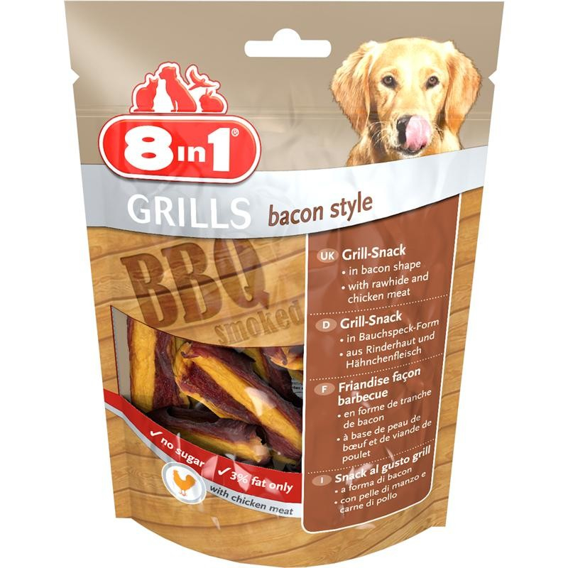 8in1 Grills Bacon Style 80 g 4048422111818