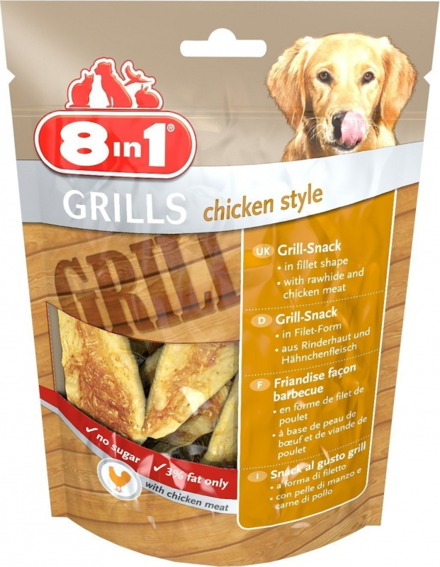 8in1 Grills Chicken Style 80 g
