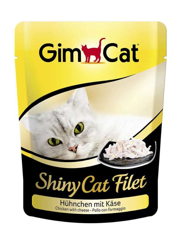 GimCat ShinyCat Filet kip met kaas 70 g